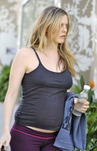 Алисия Сильверстоун беременна