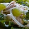 Куриные грудки с виноградом и эстрагоном